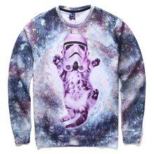 Mr.1991INC Men/Women Hoodies Loose Style Print Animals Cat Panda Rainbow Triangle Cartoon 3d Sweatshirts Plus Size 4XL 5XL