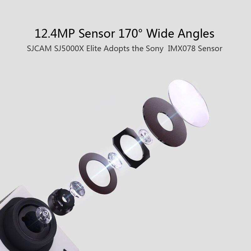 SJCAM SJ5000X Elite Akcija Kamera 4K WiFi Sport DV Diving 30M - Kamera i foto - Foto 3