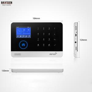 Image 3 - DAYTECH אלחוטי GSM בית מעורר מערכת LCD מסך מגע WiFi GSM אבטחת מערכת RFID תנועה גלאי אש עשן חיישן (TA01)