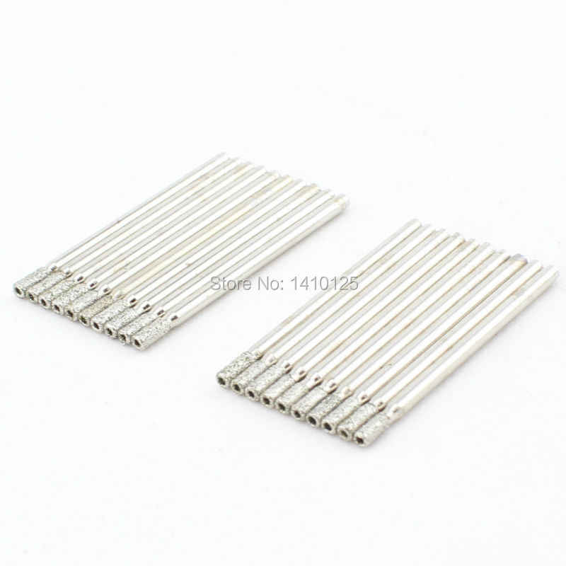 "20Pcs 2.5mm 3/32"" inch Electroplated Diamond Coated Hole Saw Core Drill Bit Masonry Drilling Cutter Glass Marble Tile Granite"