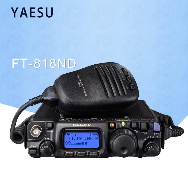 YAESU New Listing FT-818ND Shortwave Radio 6W High Power Built-in TCXO-9