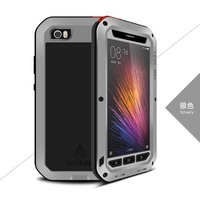 New Original Brand Case Luxury Aluminum Metal Armor Silicon ShockProof Luxury Mobile Phone Cases Cover For