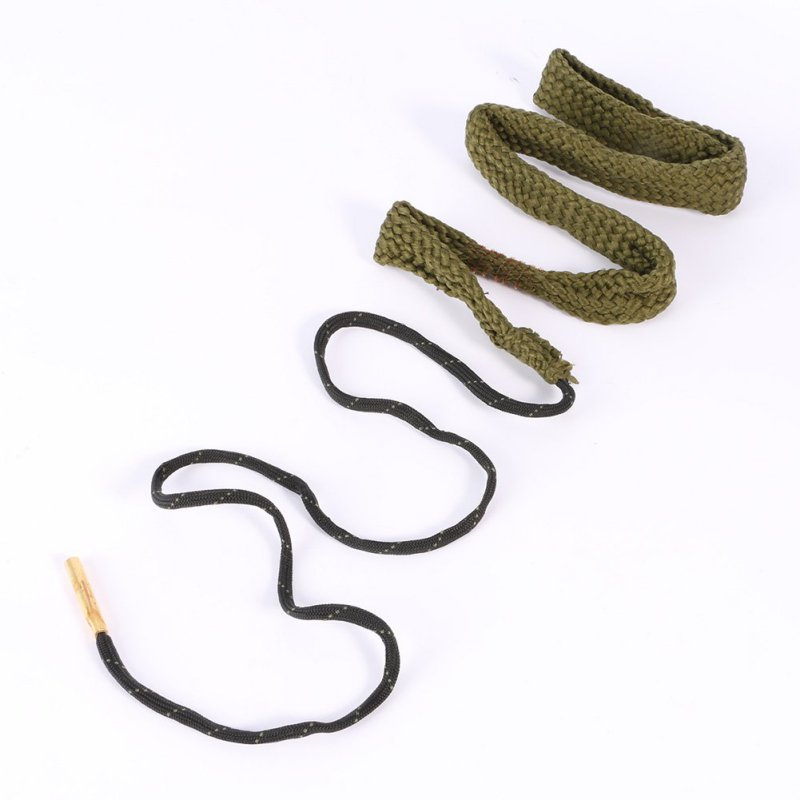 New Barrel Cleaning Rope Bore Snake 38/357/380 Cal&9mm Calibre Rifle Barrel Cleaner Rope Boresnake Hunting Gun Accessories 43bp hoppe s 9 boresnake 30 30 30 06 300 303 caliber rifle cleaner