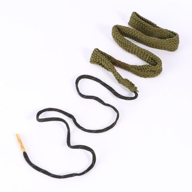 Nuevo Barril Cuerda Limpieza Serpiente Bore 38/357/380 Cal y 9mm Cañón de un Rif