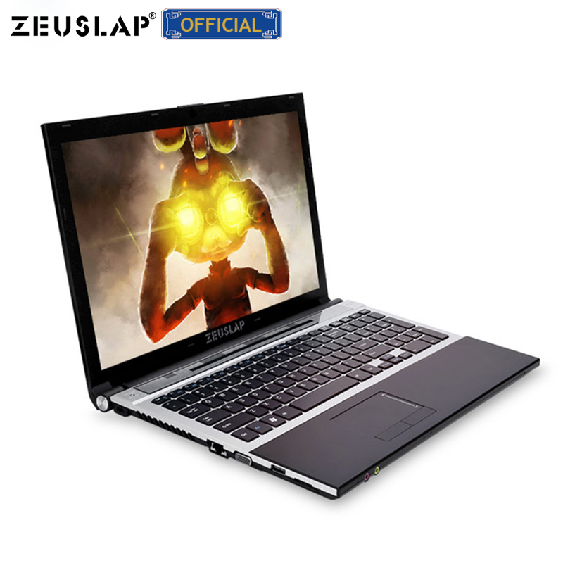 ZEUSLAP 15.6 pollici intel i7 8 gb di ram 128 gb 256 gb ssd da 512 gb 1920x1080 full hd schermo Finestre 10 sistema di Notebook PC Del Computer Portatile Del Computer