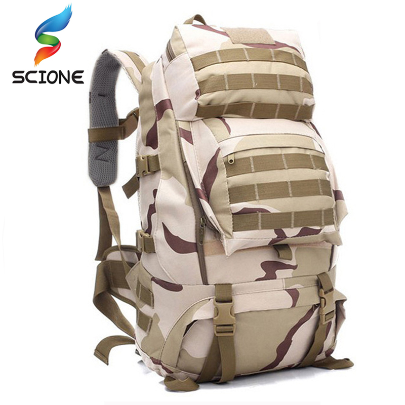 2017 Hot 50L Military Tactical Assault Pack Backpack Army Molle Waterproof Bag Small Rucksack for Outdoor Hiking Camping Hunting 40l tactical molle backpack military assault pack waterproof rucksack hiking camping travel large school lantop backpack