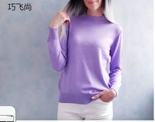 купить Women Cashmere Sweater Womens Knitted Tops Female Long Sleeve Autumn Winter Turtleneck Pullovers Solid Color Sweate по цене 820.65 рублей