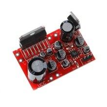 DC 12V TDA7379 38W + 38W wzmacniacz Stereo w/AD828 przedwzmacniacz Super niż NE5532 wzmacniacze płyty układy scalone