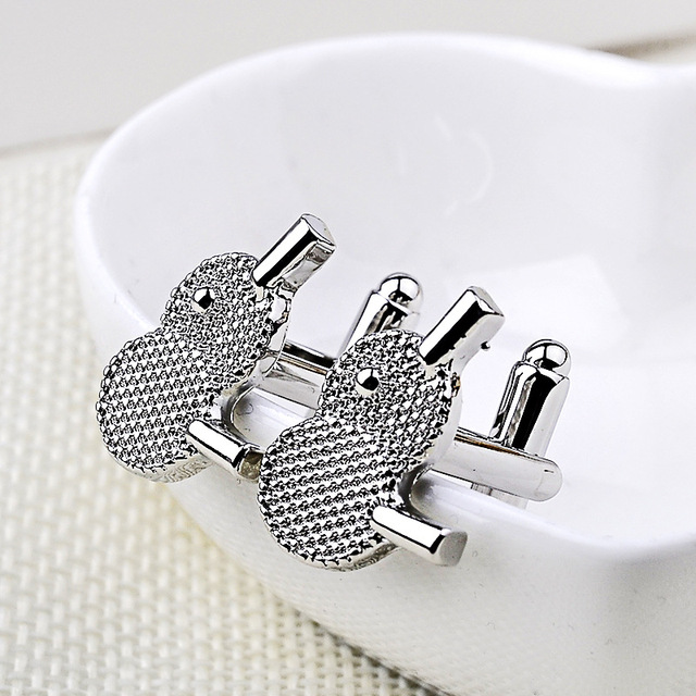 Luxury Creative Table Tennis Wedding Cufflinks