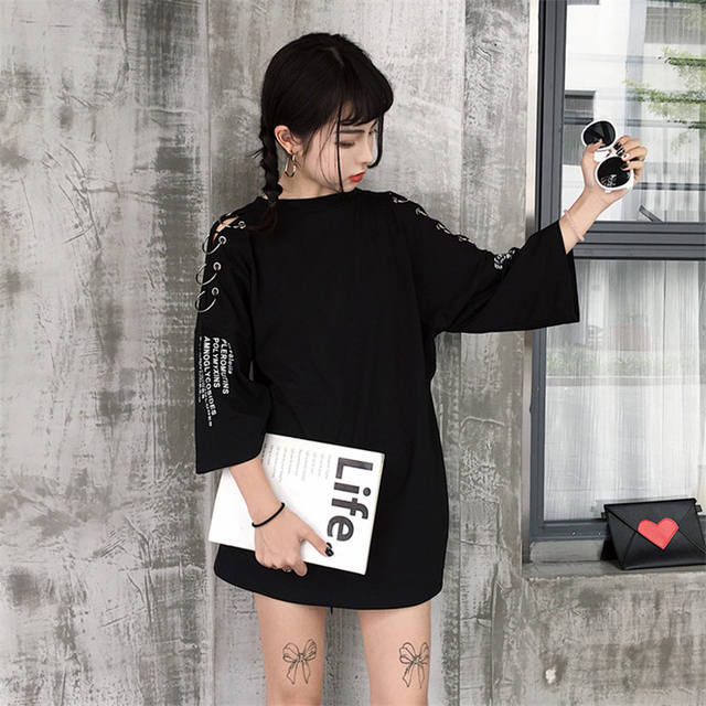 KOREAN RETRO RING T-SHRT (2 COLORS)