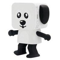 Sıcak satış Binmer Kablosuz Hoparlör Bluetooth Dans Robot Köpek Hoparlör Stereo Süper Bas Hoparlörler Taşınabilir Hoparlör Hands-Free