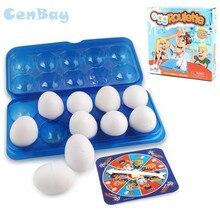 01337e1ce9195 Familia Funny incitado en juego padre-niño interactivo diversión Gadgets  Juguetes no moje huevo ruleta juegos de fiesta para niñ.