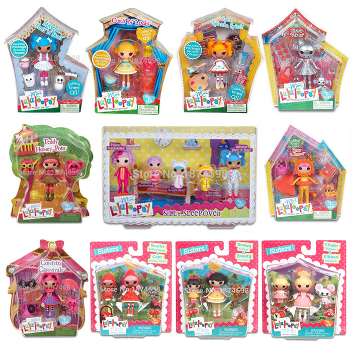 New Toys Mini Lalaloopsy Doll Collection Figures Dolls For