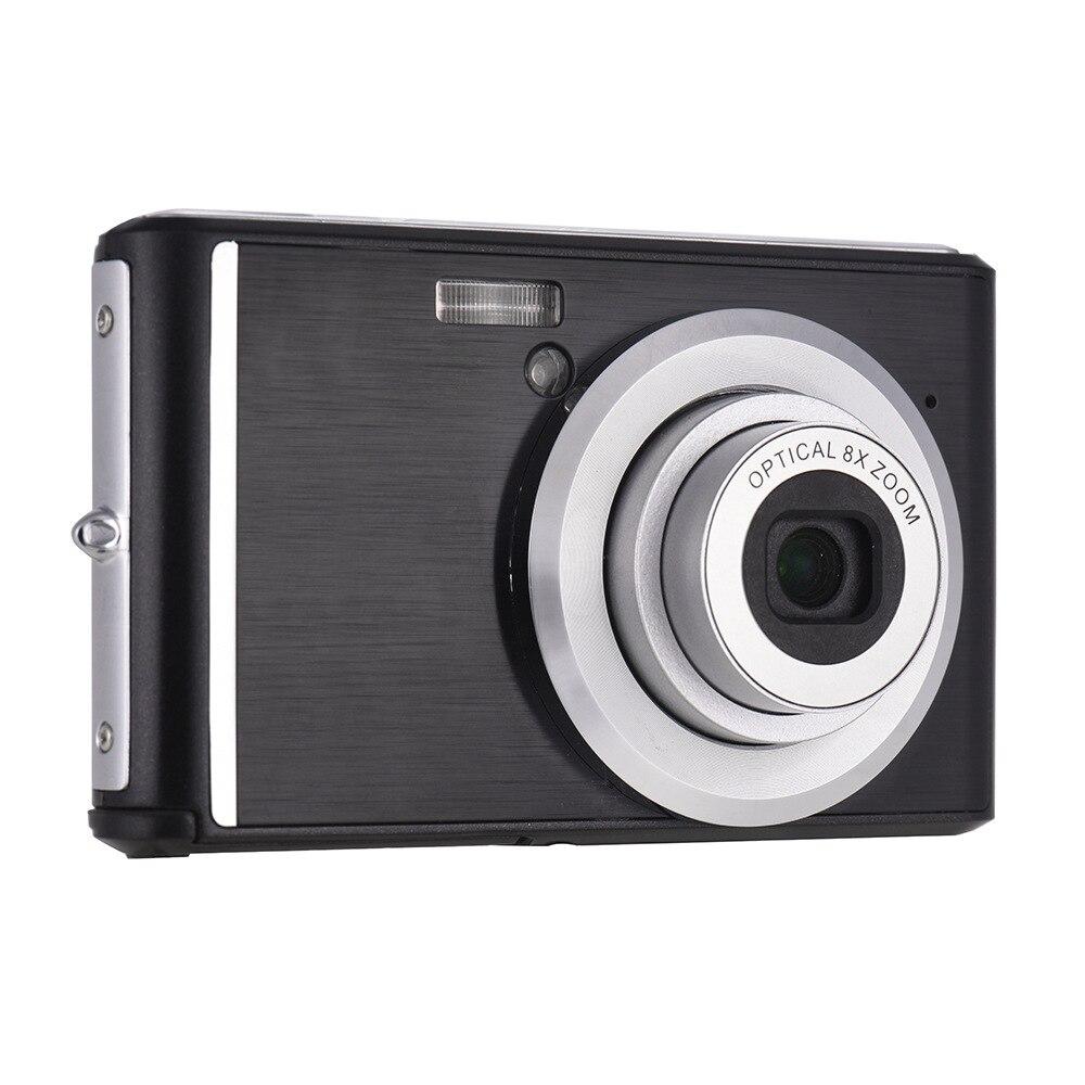 V700 18 millions 6x zoom optique objectif télescopique avec macro ultra-mince ultra-HD caméra numérique 2.4 pouces