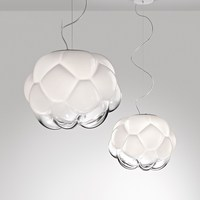 Fabbian 이탈리아 유리 펜 던 트 조명 빛 led hanglamp 로프트 장식 램프 전등 매달려 램프 거실 레스토랑