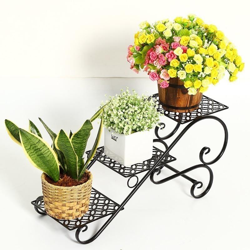 Mensole Per Fiori Mensola Porta Piante поддержка Plante Afscherming Balkon цветок полка балкон стенд завод стойки