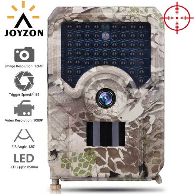 Newest HD 1080P Hunting Camera 12MP 49pcs 940nm Infrared LEDs Night Vision Hunting Traps Wildlife Trail Camera Animal Photo Trap