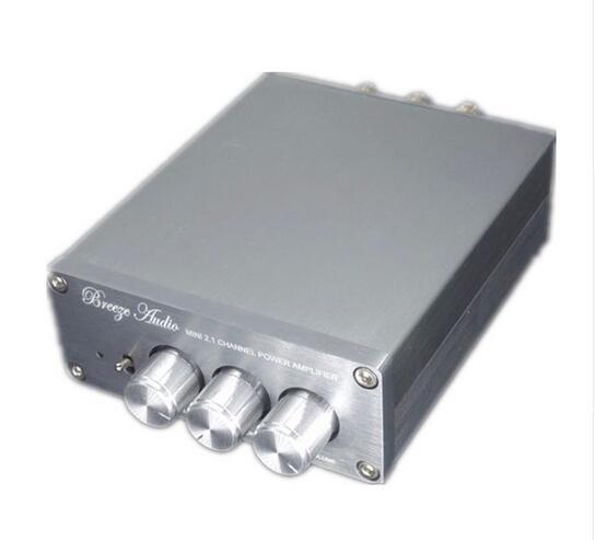 Nouveau DP1 2.1 506 2*50 W + 100 W Subwoofer grande puissance pur HIFI Aduio amplificateur numérique amplificateur amplificateur TPA3116D2 surpasser LM1875 pg
