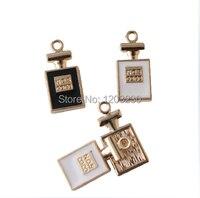 DIY upscale perfume bottles suitable for bracelet necklace key phone pendant accessories drop of oil alloy charm