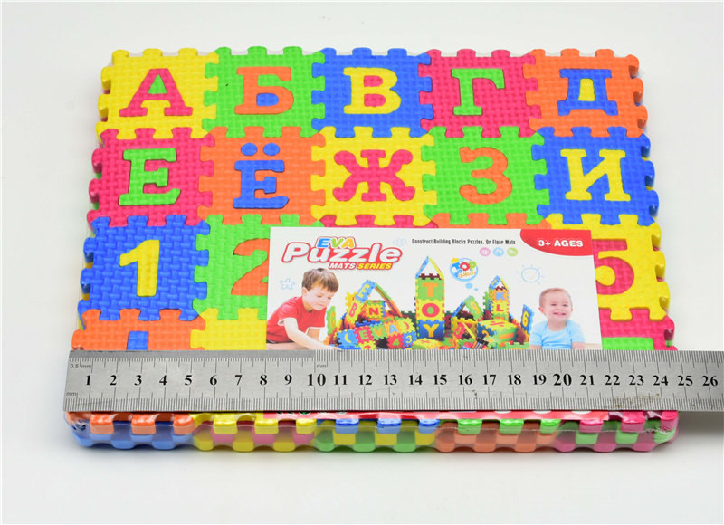 Big/Small size Kids baby play mat puzzle mats carpet rugs babies  Russian language EVA s 3D DIY soft toys for kid | Happy Baby Mama