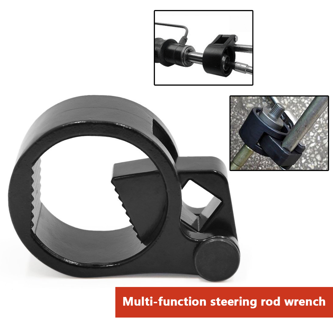 Universal Steering Track Rod Removal Tool Car Steering Rudder Tie Rod Wrench Rudder Ball Joint Removal Wrench Hand Tool