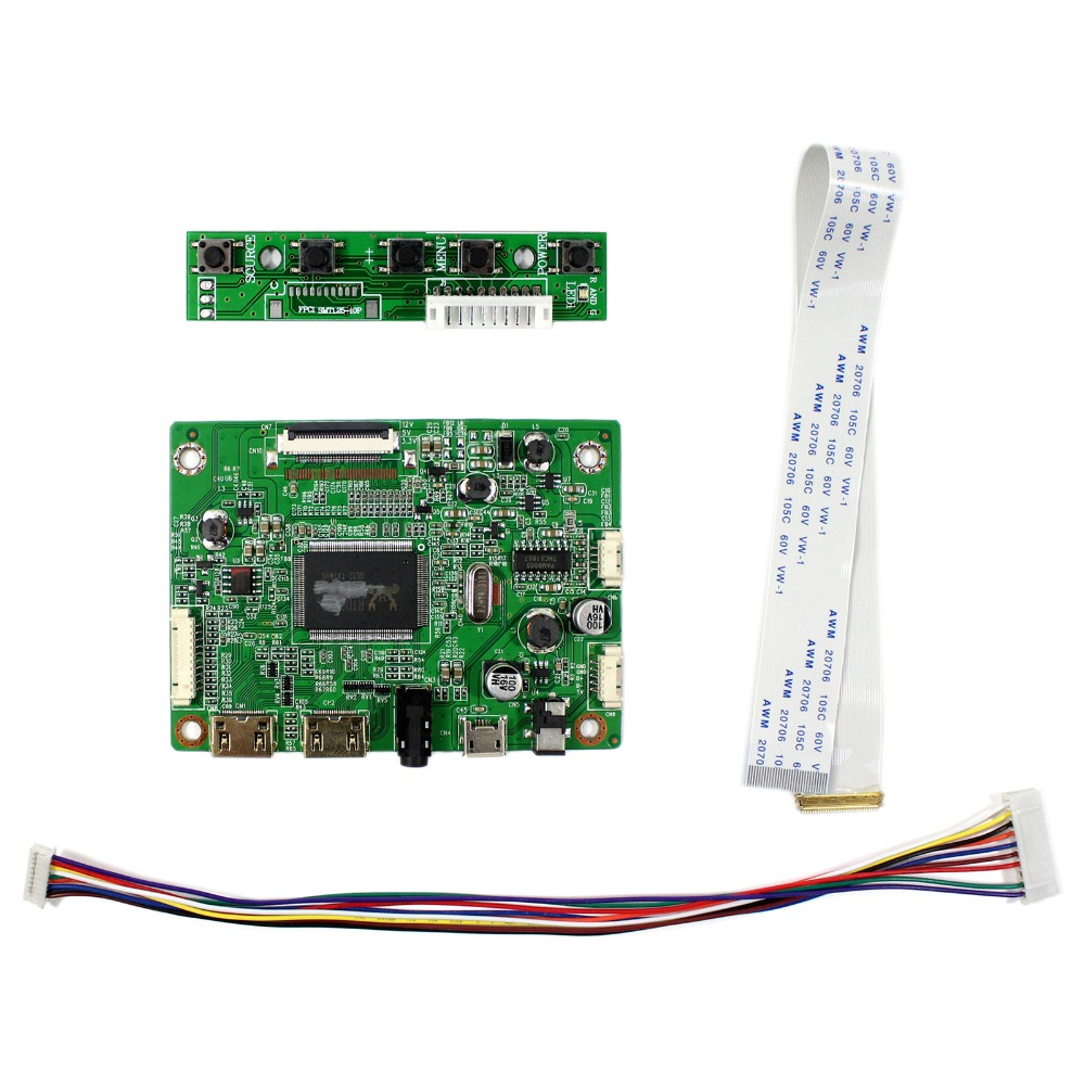 "HDMI Mini LCD Controller Board For 1920x1080 11.6"" 13.3"" 14"" 15.6"" 17.3"" 30P eDP LCD"