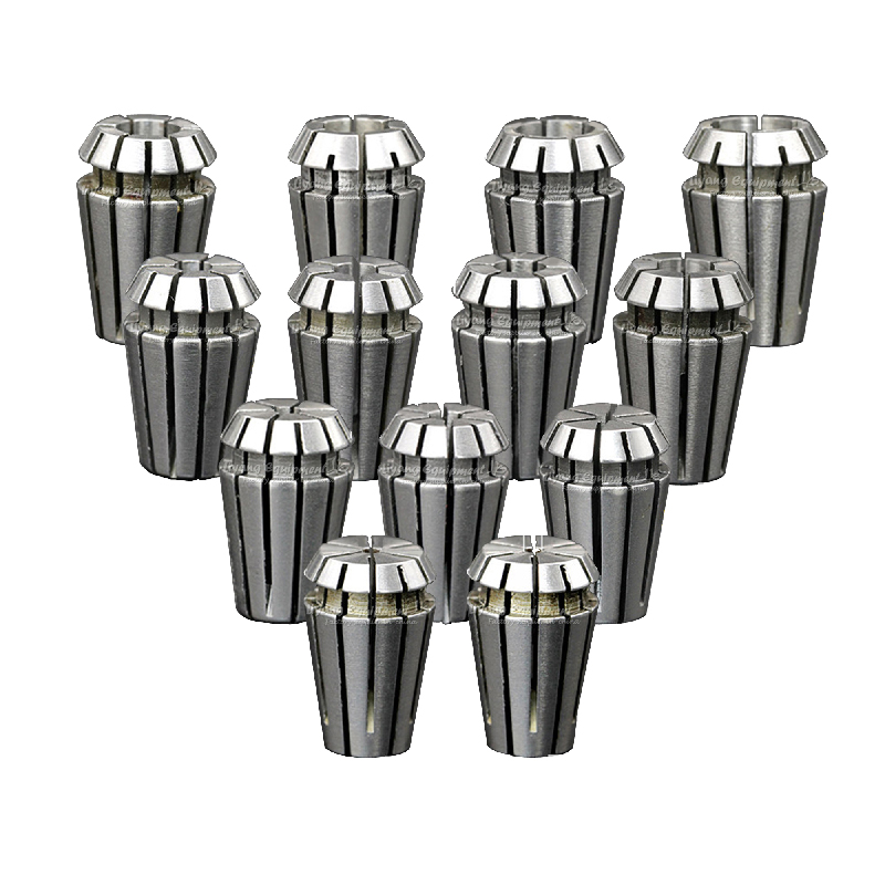 13pcs ER16 1-10mm Spring Collet Set Collet chuck For CNC Milling Machine Spindle 2.2KW useful 15pcs set 2mm 16mm er25 precision spring collet for lathe chuck for cnc milling engraving machine best price