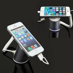 Mobile handy sicherheitsausstellungsstand smartphone alarm halter iphone exbbit halterung für tablet diebstahl zeigen rack