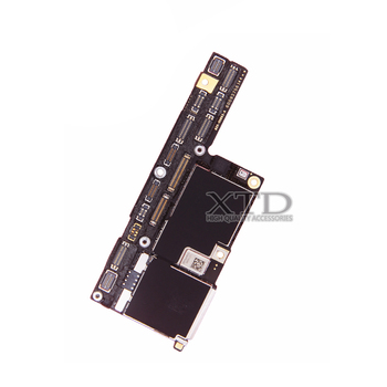 100% Original Motherboard For iPhone X Factory Unlock Mainboard No Face ID With Full Chips IOS System Logic Board Good Working 1