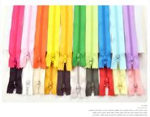 50 шт. Смешать Цвет Нейлон Катушки Молнии Tailor Швейные Инструменты Аксессуары Для Одежды 9 Дюймов