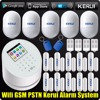 Kerui W2 WiFi GSM PSTN RFID Home Alarm Security System Low Battery Indication TFT Color Display