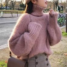 Casual Women s Sweaters Japanese Kawaii Ulzzang Loose Velvet Knit Sweater  Female Korean Harajuku Punk Clothing For 8ddd63b9e