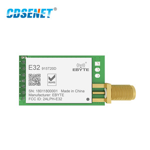 Image 2 - 1pc LoRa 915MHz SX1276 rf Transceiver Wireless Module Long Range E32 915T20D iot UART 915 Mhz Circuit rf Transmitter Receiver