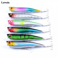 Lawaia 6 Colors Fishing Lure 10.5cm / 15.7g Water Surface Of The Line ABS Hard Bait Bionic Bait Super Hooks Fish Tackle