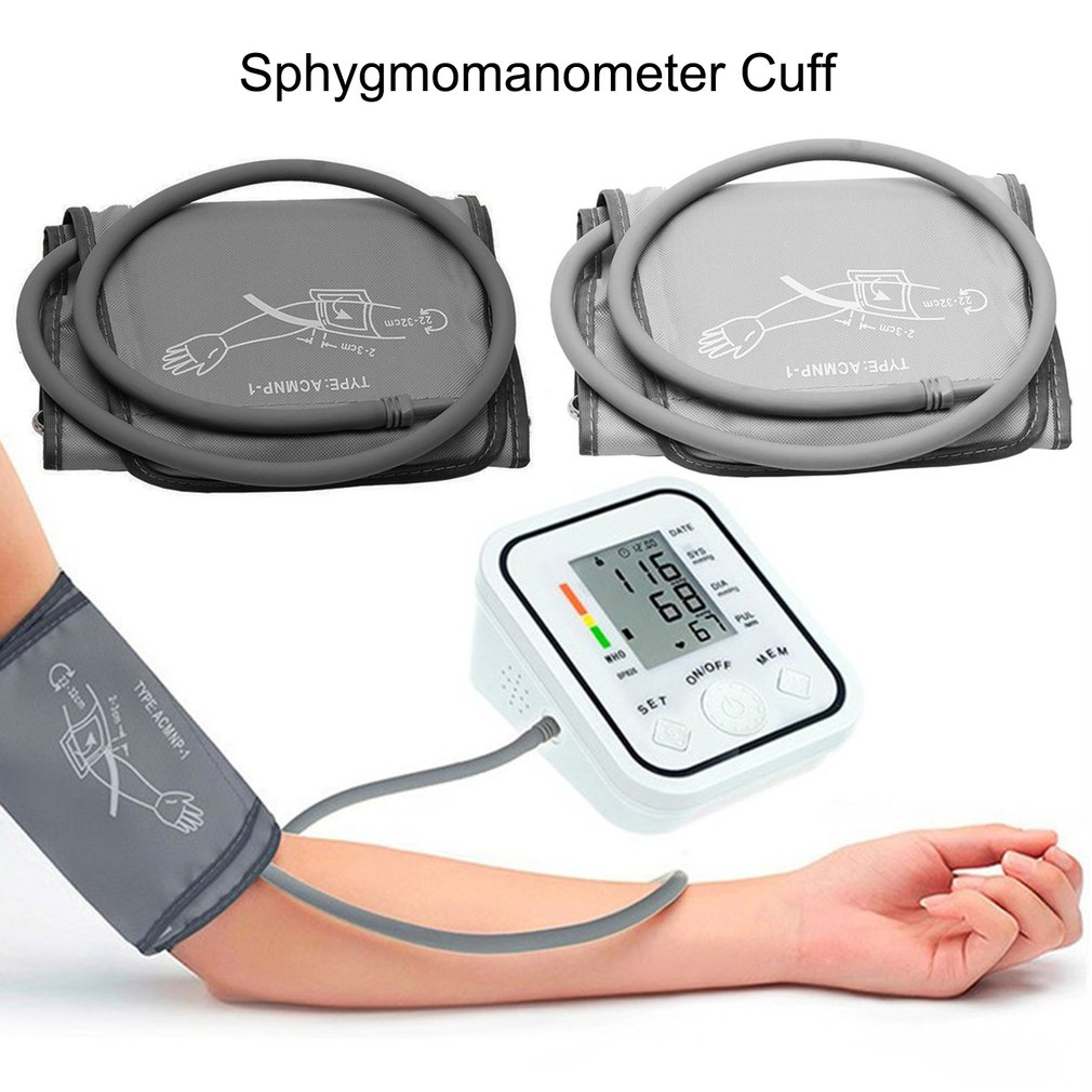 Portable 22-32 CM Arm Cuff Digital Blood Pressure MonitorPortable Single Tube Tonometer Cuff For Sphygmomanometer 2019