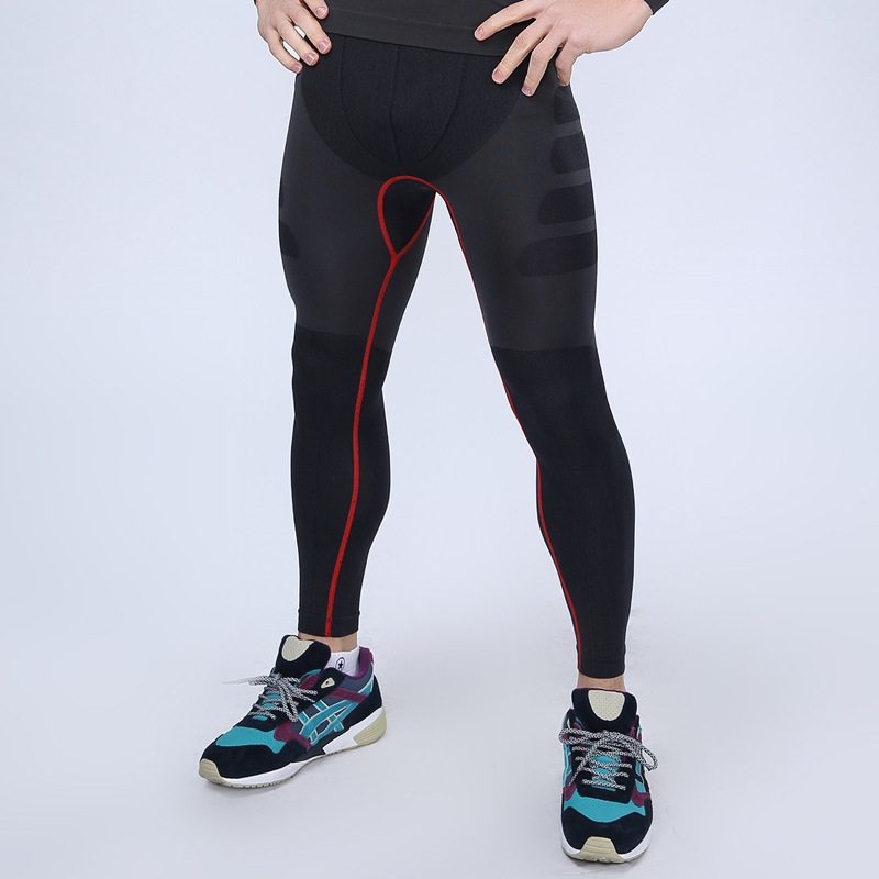 Men Gyms QUICK-DRY Workout Compress Leggings Bodybuilding Sporting Runs  Slim Fitness Yogaing Fitness Clothing Tights Pant MA05 69eea9a6c