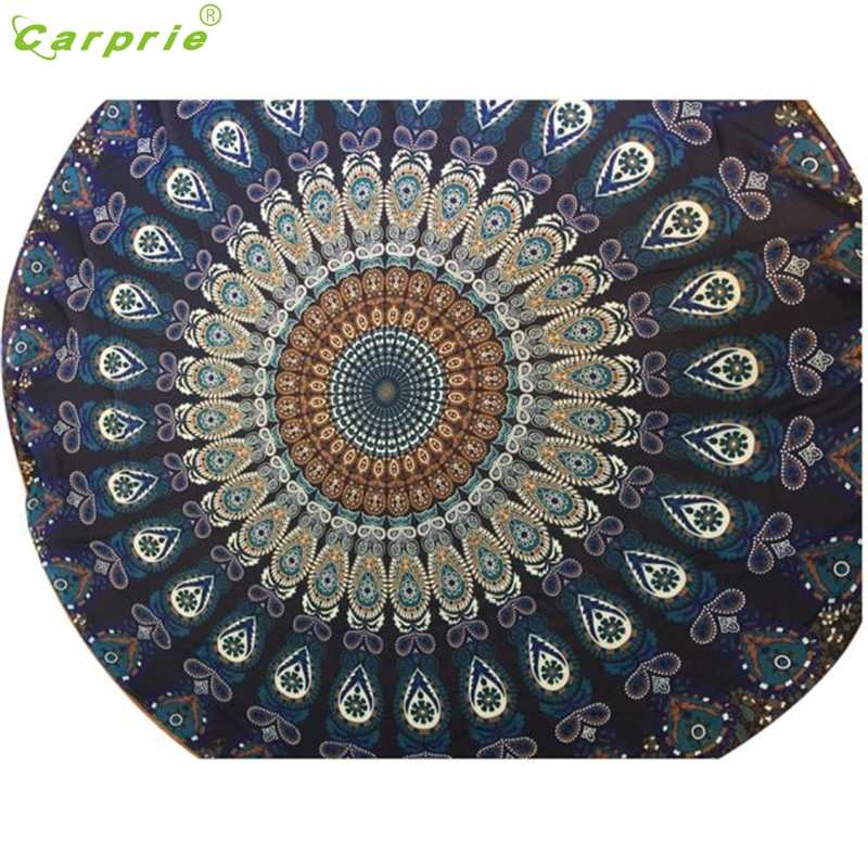 Hot! Best Price Round Beach Pool Home Shower Towel Blanket Table Cloth Yoga Mat Beautiful Gift drop shipping JA03b