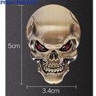 3D Metal Skull Car S...