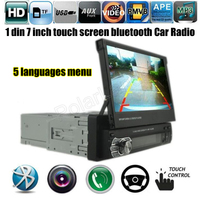 12V Car Stereo Bluetooth FM Radio MP5 Audio Player Phone USB TF Radio In Dash 1