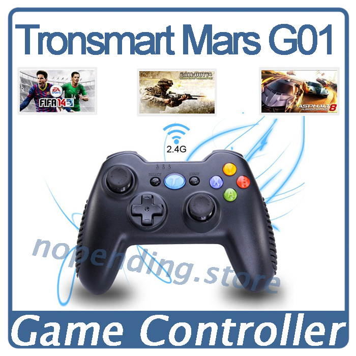 NEW Tronsmart Mars G01 2.4GHz Wireless Gamepad Game Controller For Pla