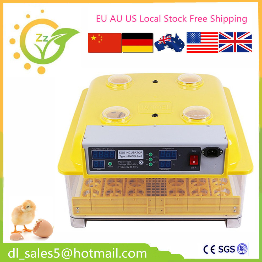 automatic egg incubator 48 eggs poultry brooder hatchery equipement for sell  Support   220~240V