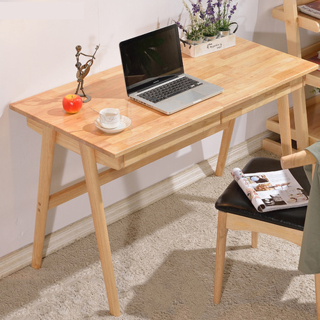 Computer Desks Office Home Furniture Solid Wood Notebook Desk Soporte 120 60 75 Cm Study Table Mesa Minimalist Hot New In Laptop From