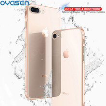 Ultra-thin TPU Cases For iPhone XS Max XR X 8 7 6s 6 Plus Silicone Soft Phone Protective Shell