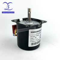 220 240V /14w/2.5 rpm 100rpm Low Noise Gearbox Electric Motor 50HZ 60HZ High Torque Low Speed AC synchronous motor 60KTYZ