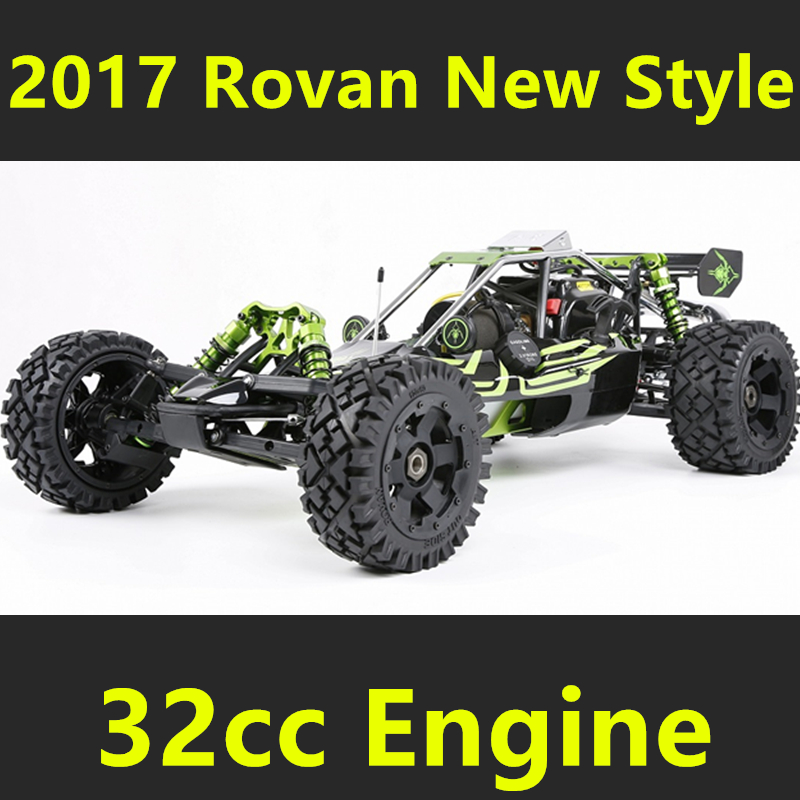 2017 New Style 1:5 Rovan 1/5 2WD BAJA 5B 320C Gas Baja Buggy 32cc Engine RTR High Performance hsp bajer 5b 1 5th 2wd rtr 26cc engine gasoline off road buggy 94054