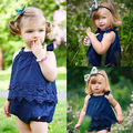 Newborn Infant Baby Girls Lace Dresses Jumpsuit Romper Cotton Clothes newborn baby girl clothes baby girl romper Creepers
