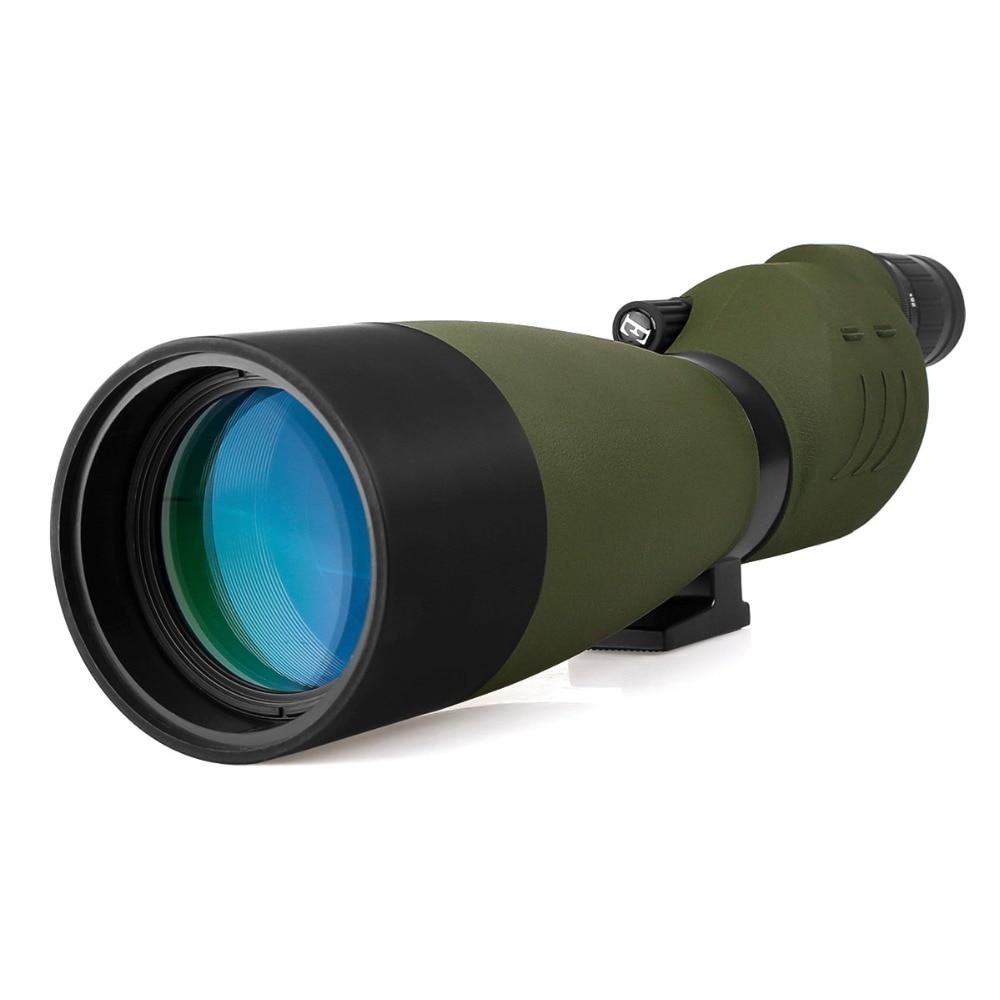 SVBONY SV17 Cannocchiale 25-75x70mm Zoom BAK4 Impermeabile Dritto 180 De per Birdwatch Telescopio F9326G