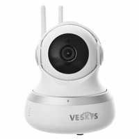 Two Way Audio 1 0 MP PT Indoor IP Camera Baby Monitor IP Camera CCTV Build