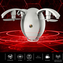 2.4GHZ 4CH 6-Axis gyro RC Quadcopter K130 Folding Transformable Egg Drone RTF With 0.3mp Wifi FPV Camera Altitude Hold toy gifts