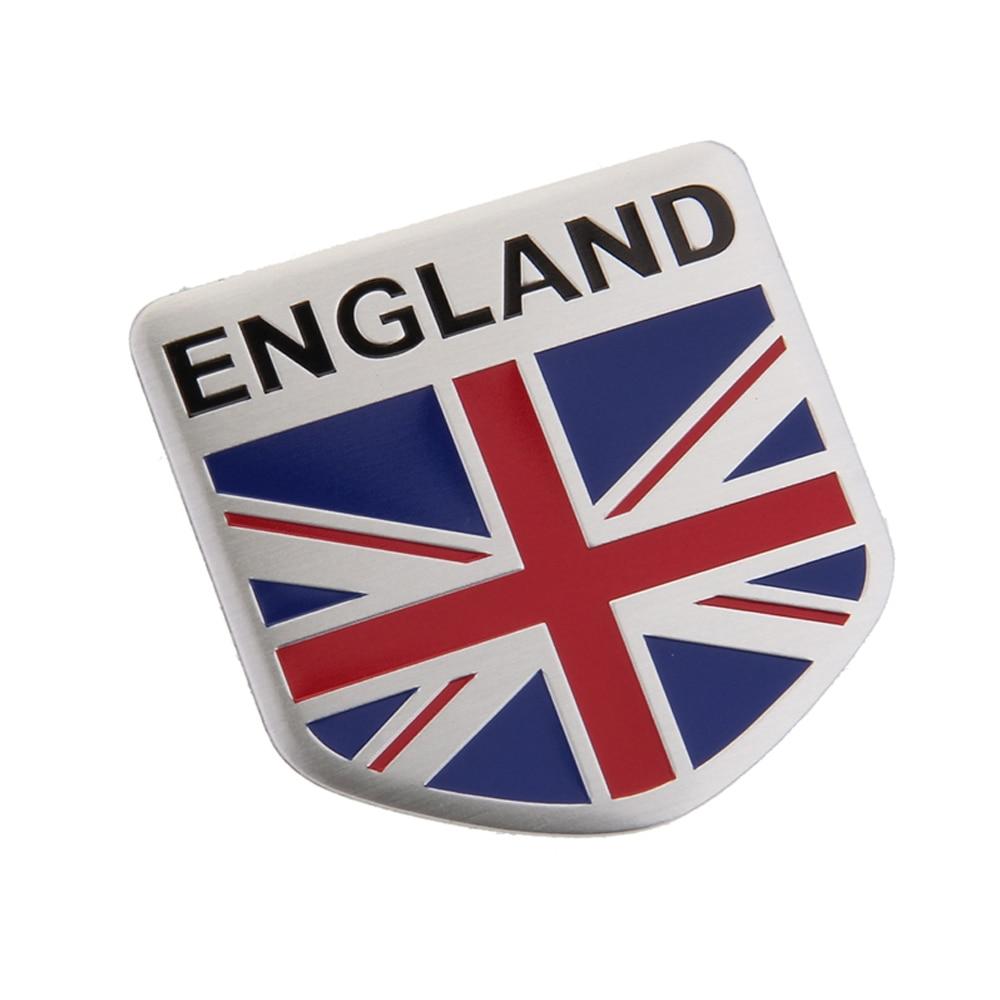 Hot Sale Auto Styling Car Sticker England Flag Emblem Badge For